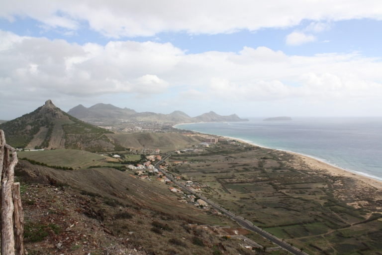Porto Santo, from Cabeço do Zimbralinho